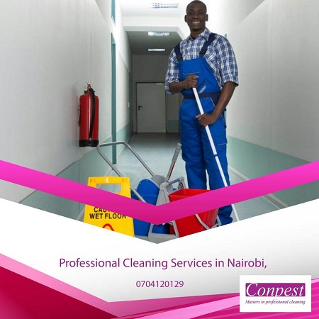 Conpest Cleaning office Services in Nairobi